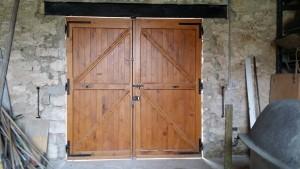 Porte de garage, menuiserie Lemaire dans la Marne, 51