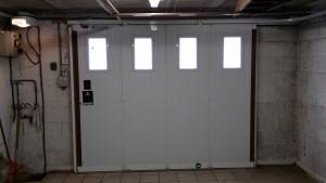 Porte de garage, menuisier à Montmirail dans la Marne, 51