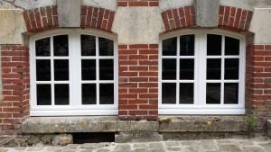 Fenêtre en bois cintrée fabrication et pose dans la Marne, 51