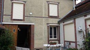 Volet roulant motorisé, menuiserie Lemaire dans la Marne, 51
