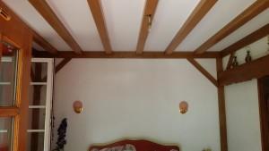 Rénovation intérieure, menuiserie Lemaire, solivage Marne