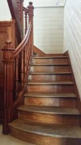 Escalier, menuiserie Lemaire à Broyes dans la Marne, 51