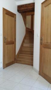 Escalier, Menuiserie Lemaire à sézanne dans la Marne, 51