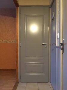 Porte d'intérieur, Menuiserie Lemaire Sézanne, Marne, 51