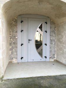 Les portes d'entrée, menuiserie Lemaire à Sézanne dans la Marne, 51e